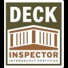 Deck Inspector Certified